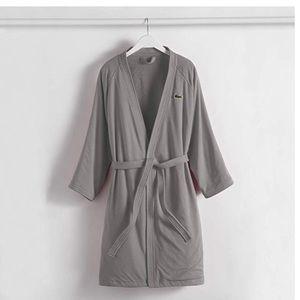 Lacoste Break Point Cotton Robe One Size